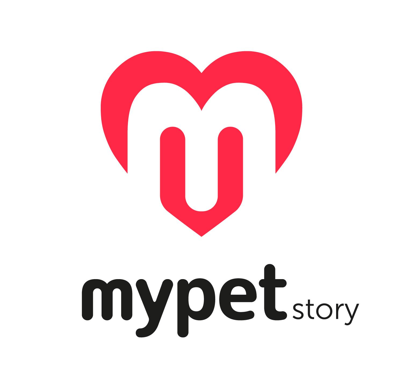 mypet logo RGB biale tlo